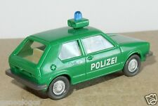 MICRO WIKING HO 1/87 VW VOLKSWAGEN PETITE GOLF POLICE POLIZEI