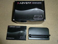 ADVENT VEGA OFFICIAL DOCKING STATION CRADLE DOCK DESKTOP STAND - USB HDMI Ports