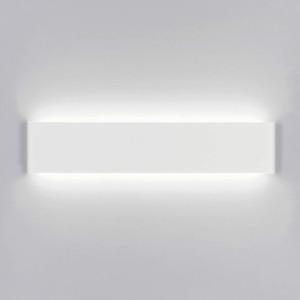 Yafido Wall Lights Indoor LED 40CM Up Down Wall Sconce Lamp Modern 14W Daylight