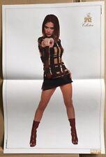 VICTORIA / SPICE GIRLS Original Vintage Smash Hits Magazine Poster