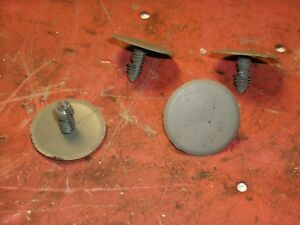 (4) 04-12 Chevy Colorado Extended Cab Panel Retainer Plugs Rear Wall Gray Large