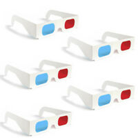 5 3D Glasses Red Blue Paper Cardboard