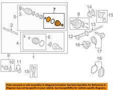 Hummer GM OEM 08-10 H3-Front Inner Boot 15886309