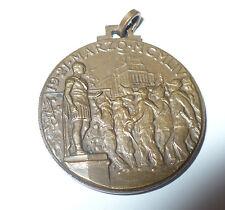 MEDAGLIA COMMEMORATIVA XXVII ADUNATA NAZIONALE ALPINI ROMA 1954