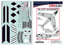 1/32 Avon Sabre - RAAF 75 SQN 'Black Diamonds' Aerobatic Team DEKL's II