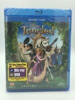 Tangled (Blu-ray+DVD, 2011; 2-Disc Set) NEW   💯 Authentic Disney