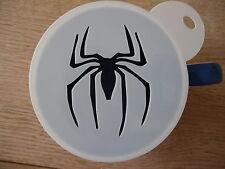 LASER CUT Spiderman 1 design caffè e Craft Stencil