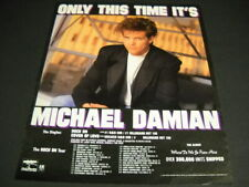 Michael Damian June 24 - August 20, 1989 Tour Dates Promo Poster Ad Only This.