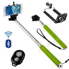 Verde Monopiede Bastone Per Selfie Telescopico & Telecomando Bluetooth Cellulare