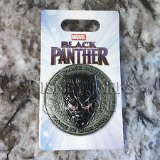 Disney Parks & Marvel Black Panther Mask Made in Wakanda Pin