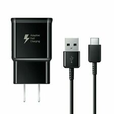 OEM Samsung Wall Charger Type-C USB Cable Adaptive Charging For S10 S9+ S8 Note9