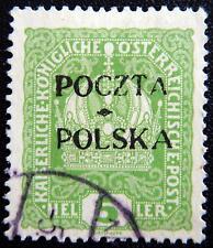 Polen Polska Kat. 30 used 1919 sign. Auflage 2050 Stück Kat. 400 Euro RAR