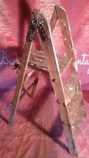 Vintage Wooden Ladders Shop Retail Display Wedding Shabby Chic Project Twyford