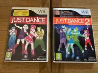Just Dance 1 And 2 (Nintendo Wii) Bundle
