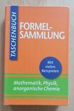 Formelsammlung - Taschenbuch - Mathematik, Physik, anorganische Chemie