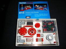 fischertechnik Baukasten em 2 *Elektromechanik*, mit Anleitung