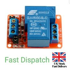 DC 5V 30A 1-Channel Relay Module+Optocoupler H/L Level Triger for Arduino Mega