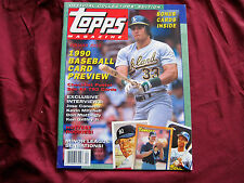 "VINTAGE TOPPS MAGAZINE ""PREMIER ISSUE"" WITH CARDS INCLUDING KEN GRIFFEY JR. NM"