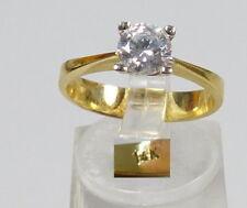 Ring 585 Gold 14 K mit Zirkonia
