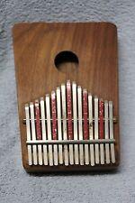Original Vtg Hugh Tracey 17 Key Kalimba African Musical Instrument Thumb Piano