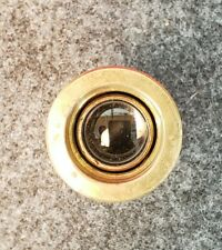 Vintage Brass Adjustable Fish Eye Peep Hole Viewer. 2""