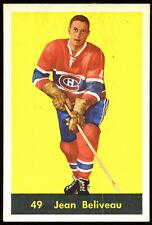 1960 Parkhurst #49 Jean Beliveau, Montreal Canadiens.  ExMt/ExMt+