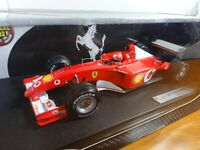 Mattel 1/18 Ferrari F2002  Michael Schumacher Hot Wheels F1 2002 New