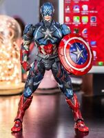Hot Captain America Marvel Variant Collection Action Figure Toy PVC Figure Gift