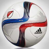 Adidas MLS Nativo 2015 Official Match Ball (White/Power Red/Solar Blue