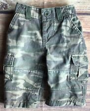 Gap Pants size 3 6 Months Camouflage Green Camp gapkids Baby Boys Army Cotton