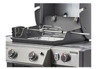 Weber 7652 Rotisserie Genesis II II LX 2 and 3 Burner 300 Series Gas Grills