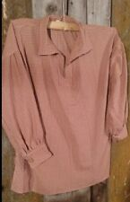 Historical reenactment fur trade era longhunter shirt sz. L