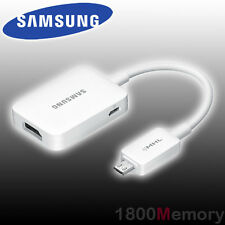 GENUINE Samsung MHL 2.0 HDTV Adapter 1080p Micro USB to HDMI Cable White