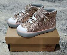 Toddler Girls Shoes Size 8 See Kai Run Belmont II Sneaker Rose Gold Sparkle NIB