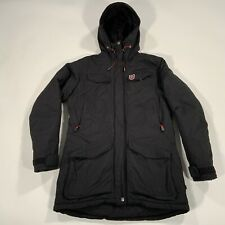 Fjall Raven Black Down Winter Coat Jacket Size Small