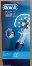 Oral-B Pro 2 2000s Sensi Ultrathin Rechargeable Electric Toothbrush