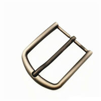 40mm Alloy Pin Single Prong Clip Buckle for Men Leather Belt Spare Replacement