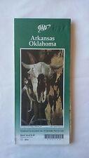 1998 Aaa Arkansas Oklahoma Map