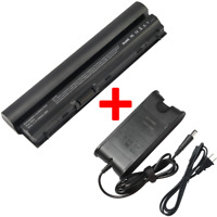 Battery/Charger for Dell Latitude E6120 E6220 E6320 E6230 E6430S Y61CV RFJMW