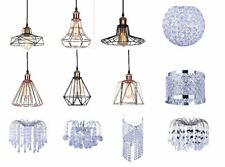 Modern Ceiling Pendant Chandelier Light Acrylic Crystal Drop Lamp Shades