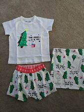 Bonds Kids Christmas Pjs BNWT the magic tree white size 2