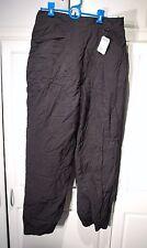 NEW TAGS ROFFE Womens Atlas Pants #902 Snow Ski Black sz Large L Nylon/Polyester