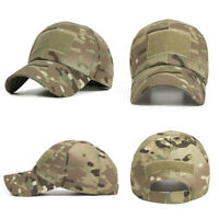 Men Women Hat Camo Outdoor Tactical Baseball Cap Military Hunting Hiking Hat NEW