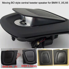 car BO style central tweeter speaker for BMW X5 X6 automatic lifting
