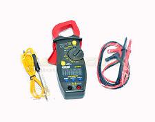auto Ampèremètre Pince multimètre voltmètre mesure de résistances AC DC