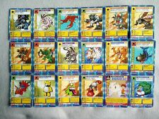 Very rare 1999 Digimon TCG Bandai shreddies promo cards
