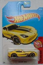 2017 Hot Wheels THEN AND NOW 10/10 2013 SRT Viper 199/365 (Yellow Version