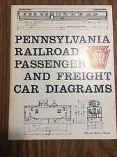 Pennsylvania Railroad Passenger And Freight Car Diagrams 1981, PRR, Pennsy.