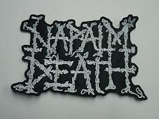 NAPALM DEATH EMBROIDERED BACK PATCH