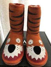 EMU kids Ugg  Little tiger  orange - Premium Australian Sheepskin Size US 1